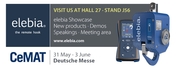 Elebia will be present at CeMat 2016 – Hannover