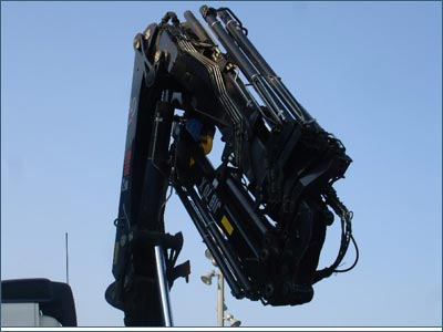 folding crane - Construction Industry