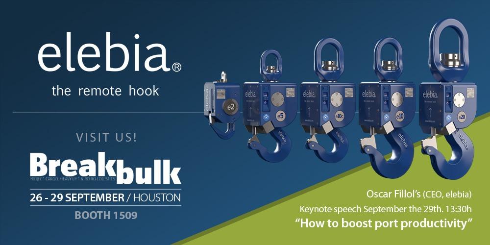 banner breakbulk 2 1 - Elebia sera présent à la Breakbulk Americas 2016