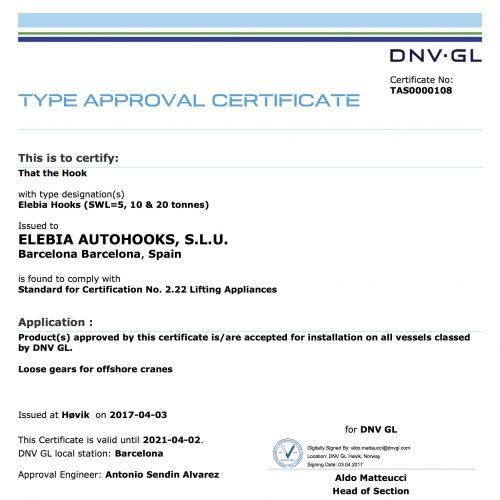 elebia DNV 2.22 certification e1550579917931 - DNV Certification