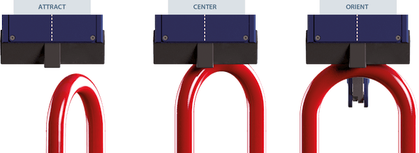 magnetic system - The evo2 Automatic Crane Hooks