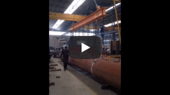 Large Steel Pipe - Vidéos d'Applications