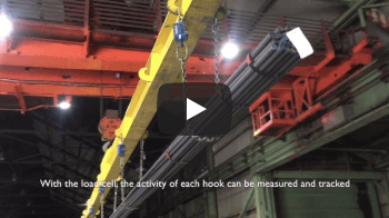 Maneouvring Rebar with Load Cell - Vidéos d'Applications