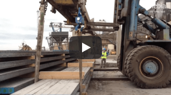 Maneouvring Rebar with Slings - Vidéos d'Applications