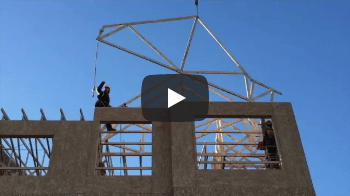 Timber Roof Structure - Videos di Applicazioni