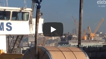 Unloading Steel Coils - Vidéos d'Applications