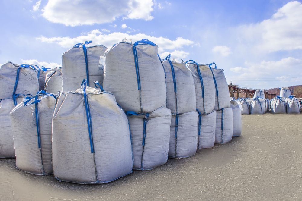 barcos con sacos big bag
