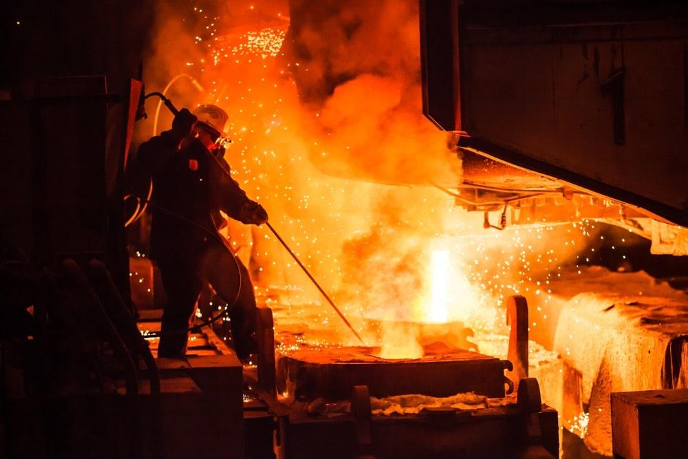 arc furnace - Electric Arc Furnace for Electrode Handling