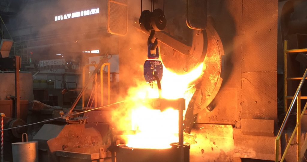 NEO20 lifting hook in foundry copia 1024x540 - Success Story: NEO20 Lifting Hook in Foundry