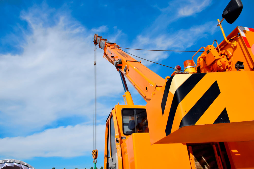 safety considerations - Operating a Crane Truck