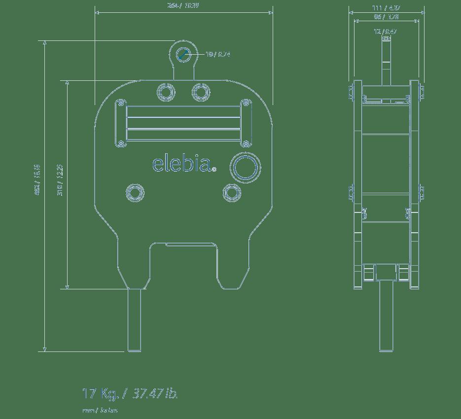 new eTrack specs - Morsetto di Sollevamento di Rotaie eTrack